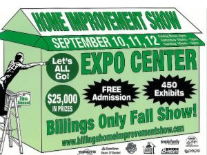 Billings Fall 2021 Home Improvement Show graphic.